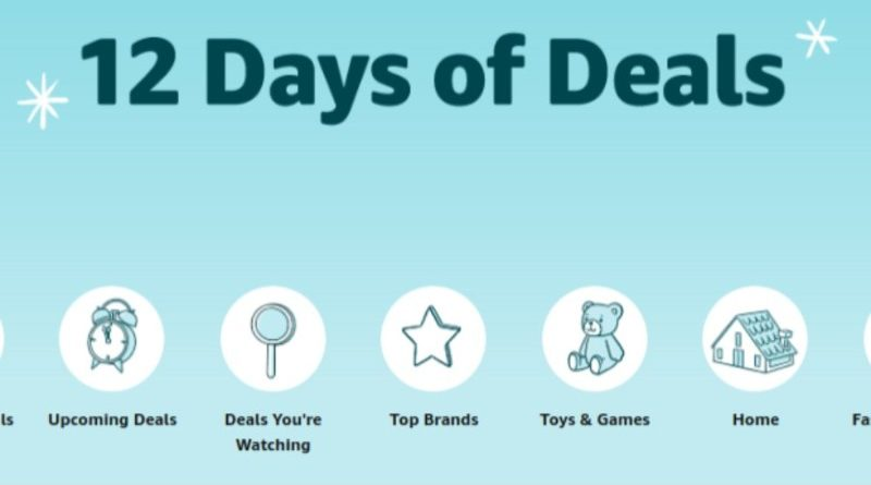 Amazon Launches 12 Days Of Deals