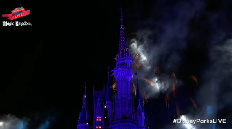 Watch Disney Parks Live New Year's Eve Celebration 'Fantasy In The Sky Fireworks' — Video